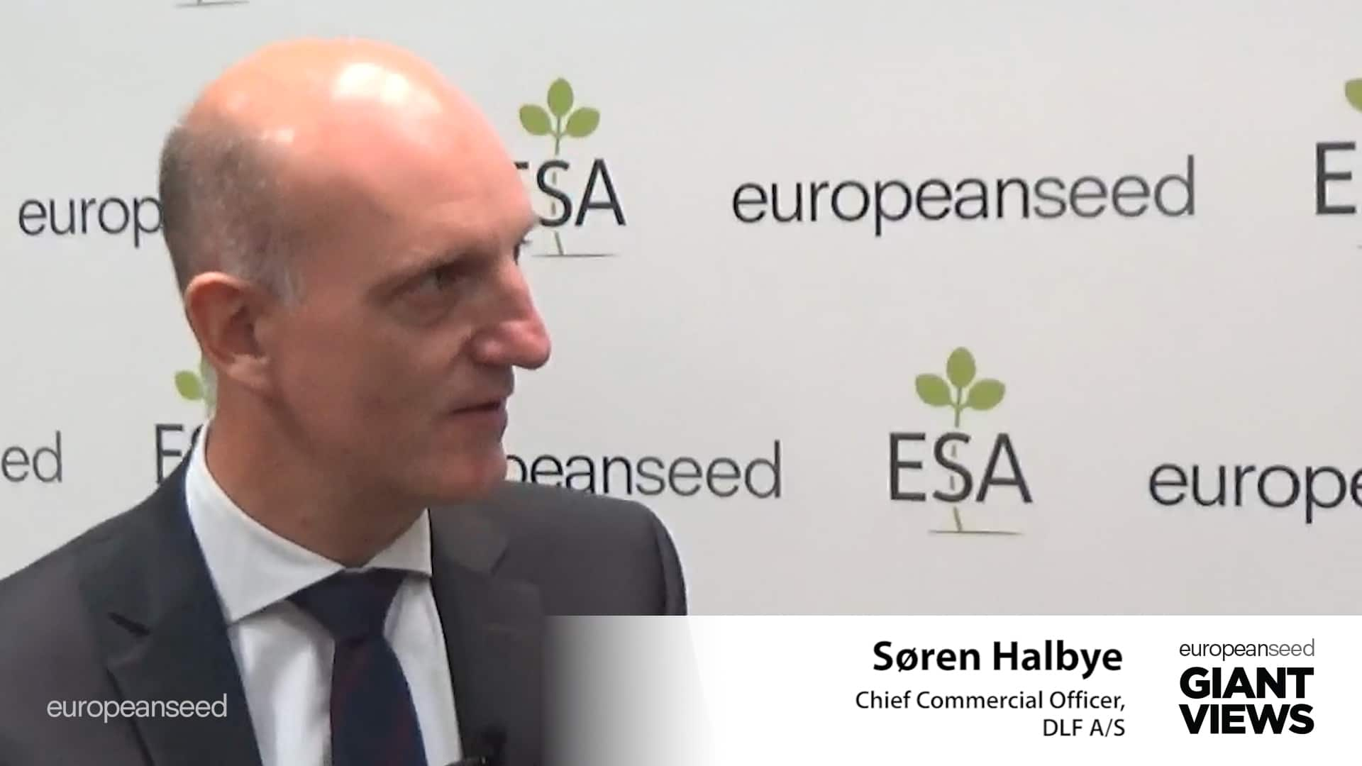 Søren Halbye (DLF A/S) Challenges in the Grass Seed Sector, Mergers